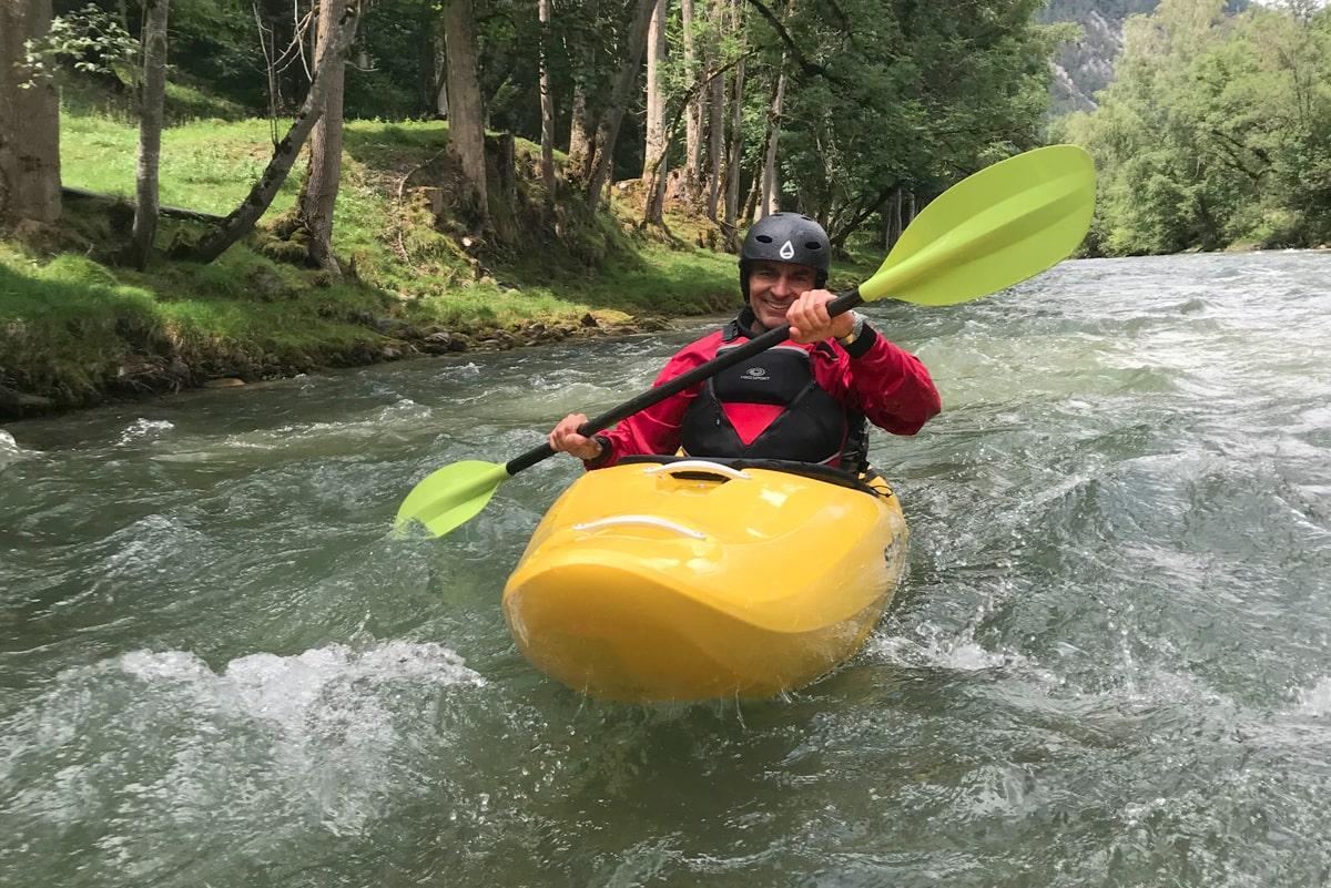Flusswandern in Österreich